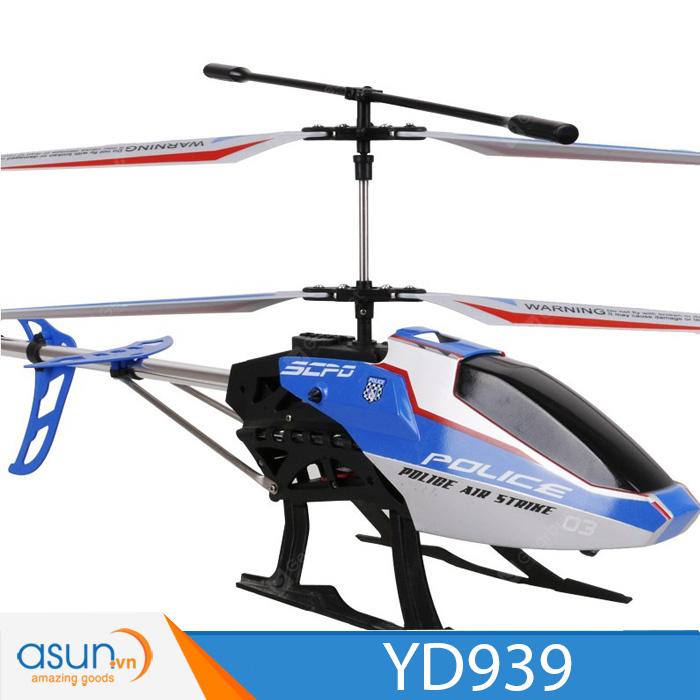 Máy Bay Trực Thằng Điều Khiển Từ Xa YD939 Helicopter 50cm Blue