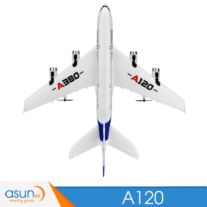 Máy Bay Cánh Bằng Điều Khiển Từ Xa Airbus A380 XK A120