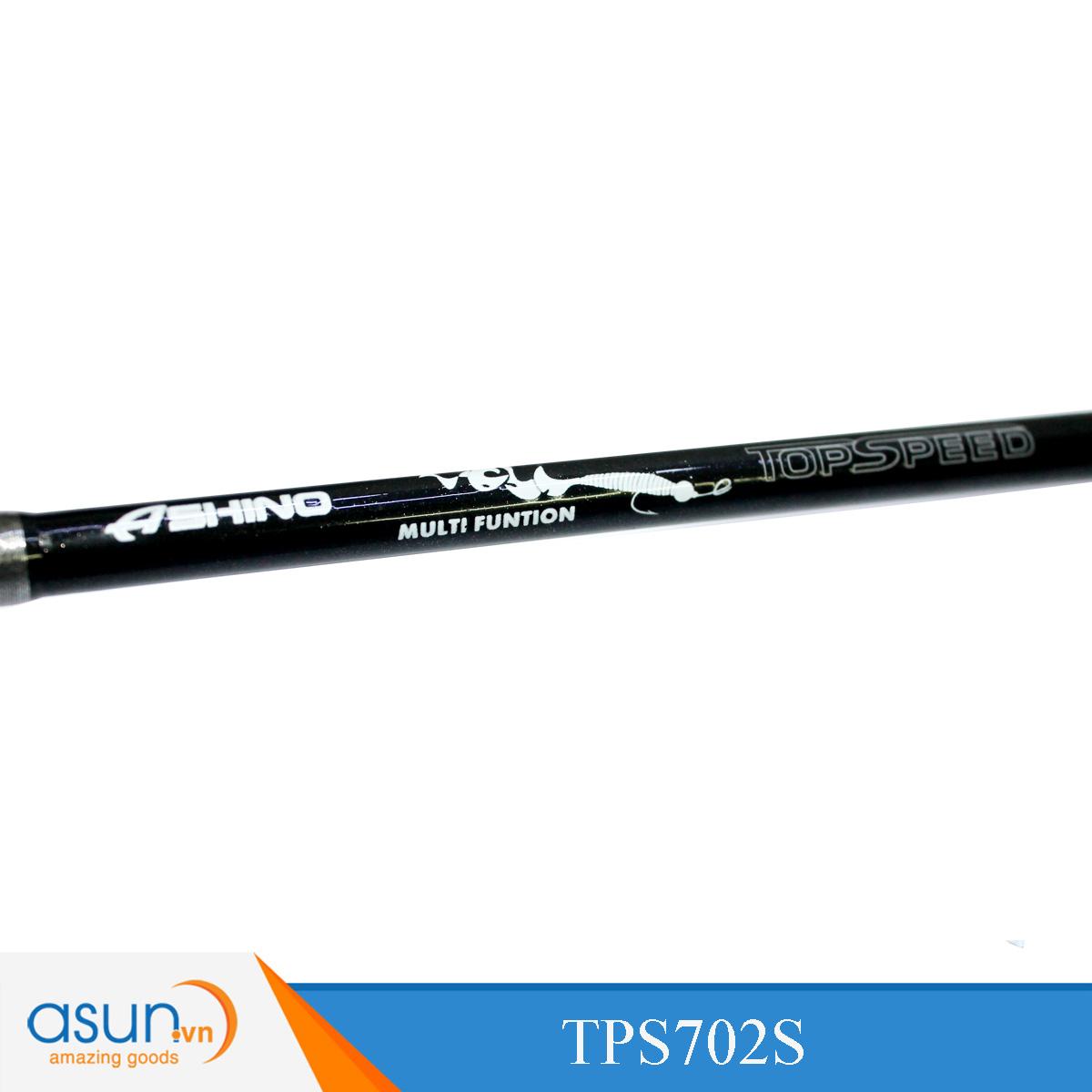 Cần Câu Đứng Hai Khúc Ashino Top Speed TPS702S - 2m1 - Chính Hãng
