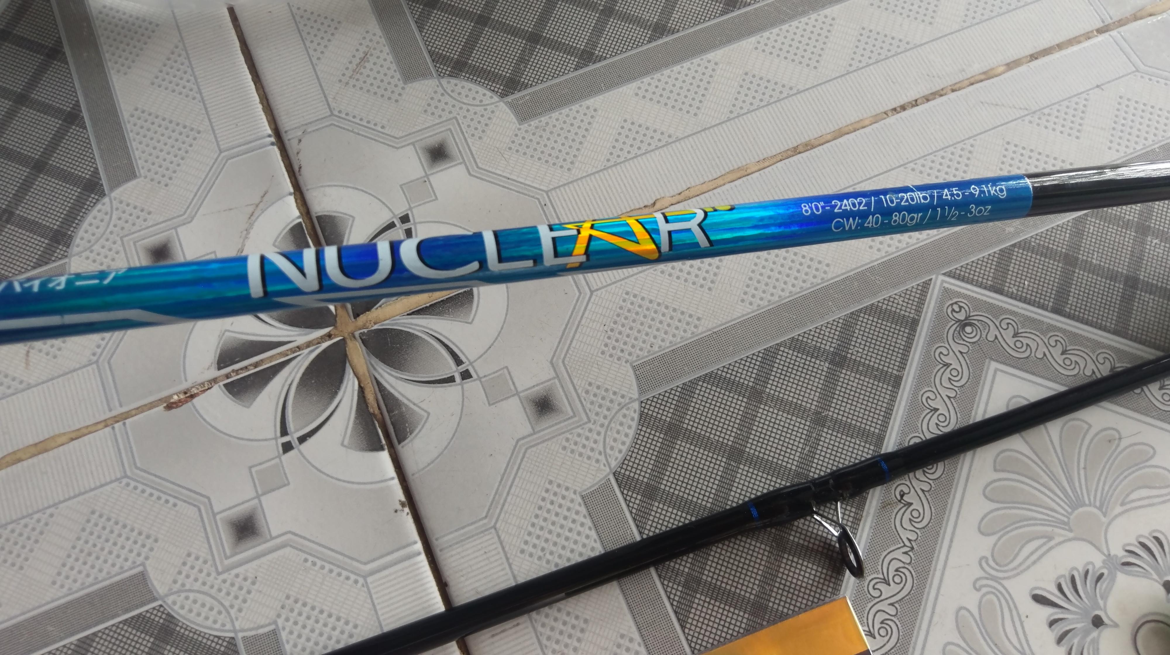 Combo bạo lực cần Pioneer Nuclear & máy Yolo BC6000 kèm phụ kiện