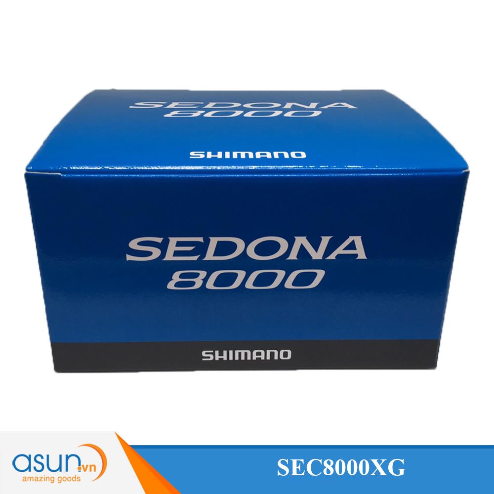 Máy Câu Cá Shimano Sedona 8000 BH 1 Năm Chính Hãng
