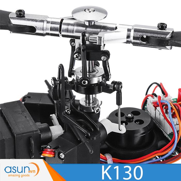 Máy bay trực thăng điều khiển 6 kênh AS350-01XK K130 Brushless