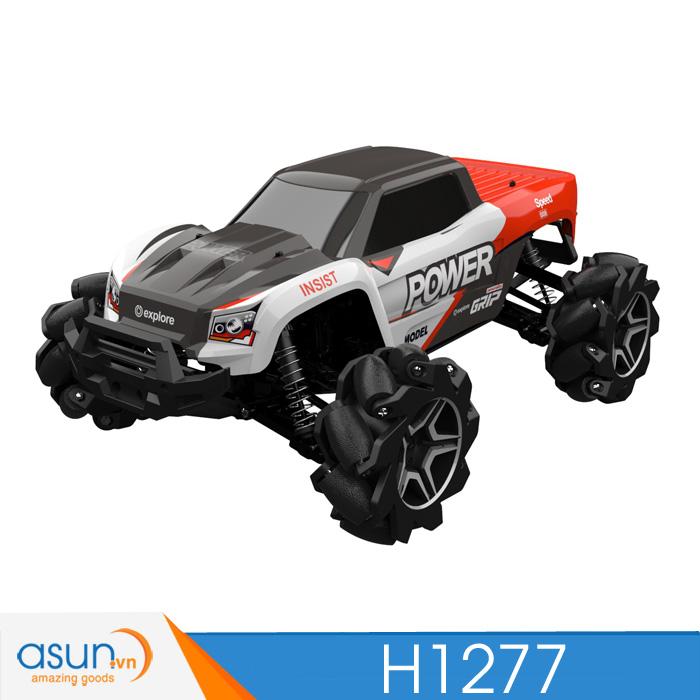 Xe Điều Khiển Địa Hình Monter Truck Nhiều Chế Độ H1277 4WD Đỏ