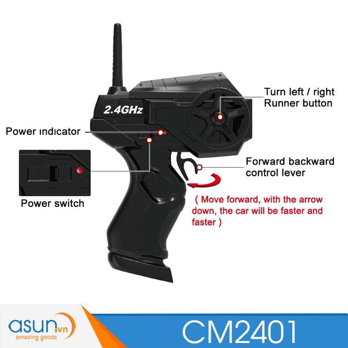 Xe Pin Baja Mini Điều Khiển Từ Xa CM2401