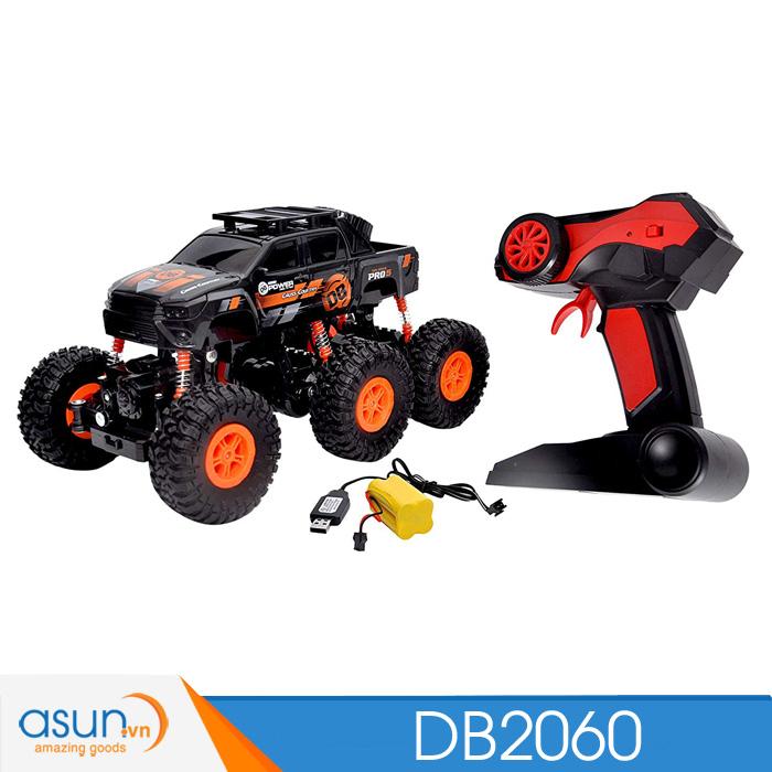 Xe  Điều Khiển Địa Hình Rock Crawler DB2060 6 bánh ĐỏDB2060R