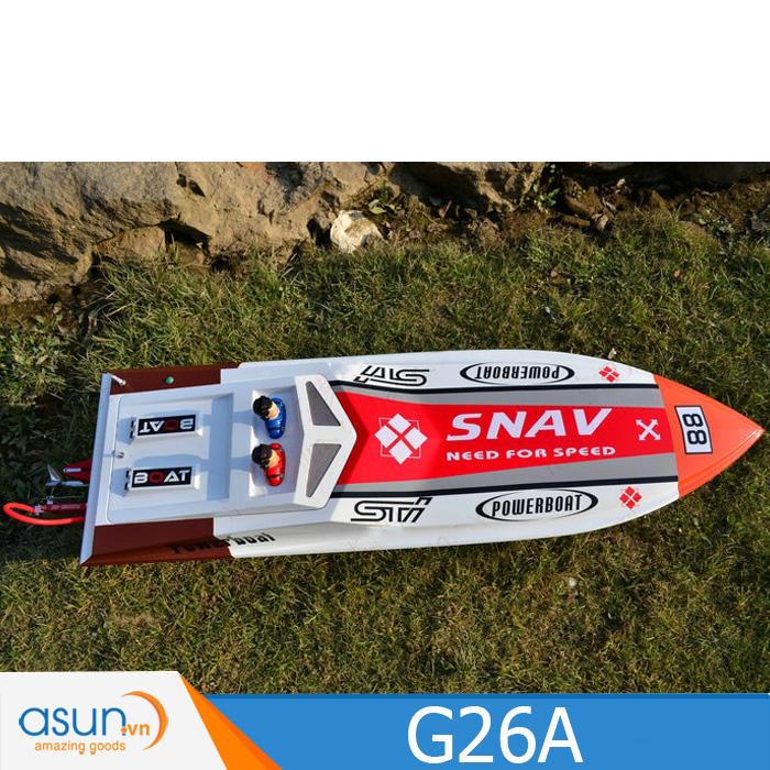 Tàu - Cano Chạy Xăng A95 DTRC SNAV G26A
