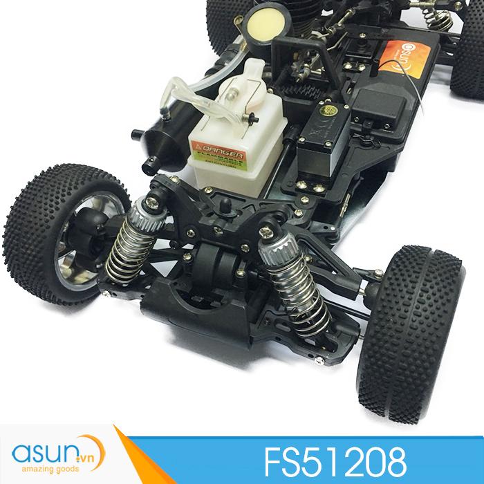 Xe Xăng Nitro Buggy Điều Khiển FS RAcing FS51208 Pô kim loại