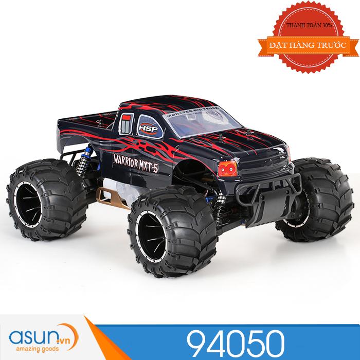 HÀNG ĐẶT TRƯỚC ComboXeA92- A95Điều Khiển Từ Xa HSP Monster Truck 94050 Máy 32cc Tỉ Lệ 1:5 90-100km