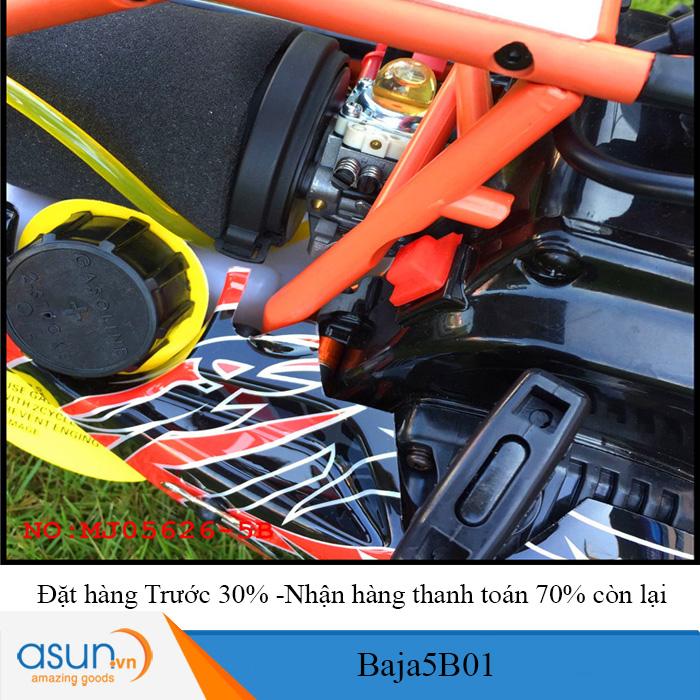 Combo Xe Xăng A92-A95 Điều Khiển BAJA5B01 29cc Tỉ lệ 1-5 -TT có quà tặng