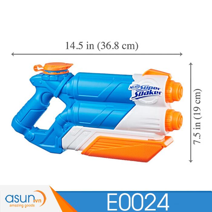 Súng Nước Hai Nòng NERF SUPER SOAKER E0024