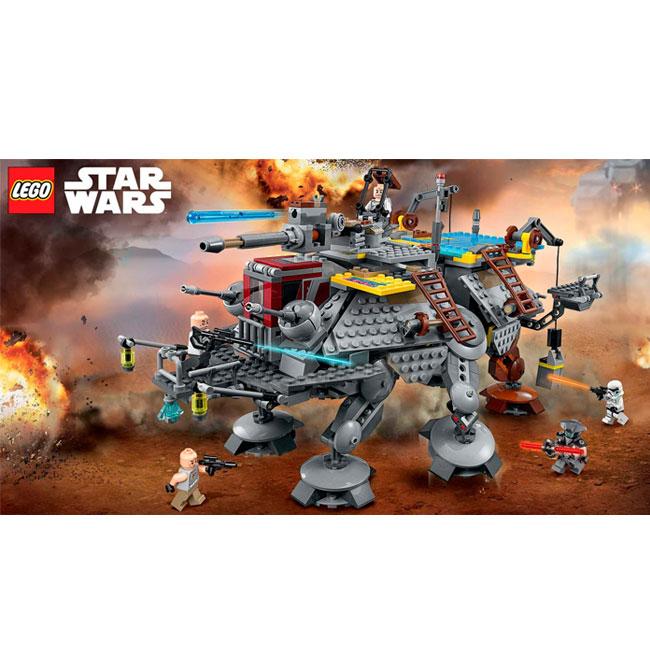 Đồ Chơi Xếp Hình - AT-TE™ Của Thuyền Trưởng Rex Thương Hiệu LEGO