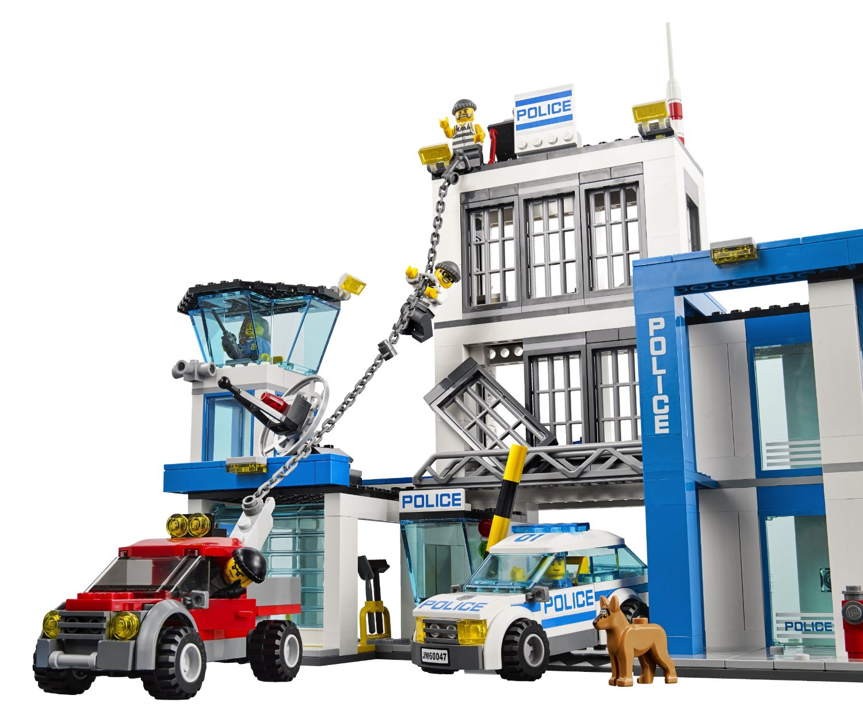 Đồ Chơi Xếp Hình - Sở Cảnh Sát Thương Hiệu LEGO
