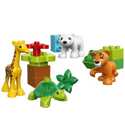 Đồ Chơi Xếp Hình - Thú Con Rừng Xanh Thương Hiệu LEGO