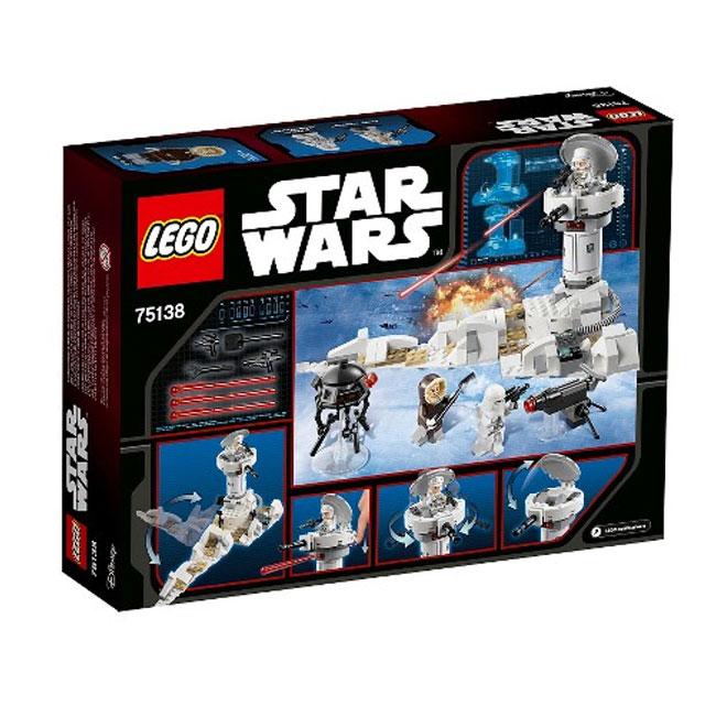 Đồ Chơi Xếp Hình -  Đại Chiến Trên Hành Tinh Hoth Thương Hiệu LEGO
