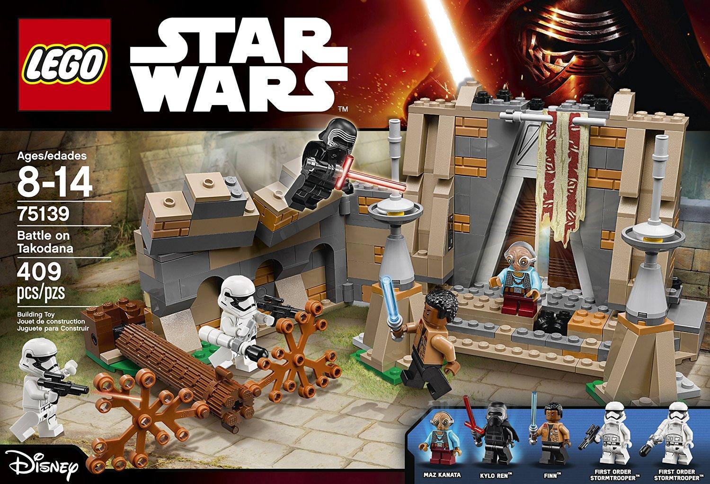Đồ Chơi Xếp Hình -  Đại Chiến Trên Hành Tinh Takodana Thương Hiệu LEGO