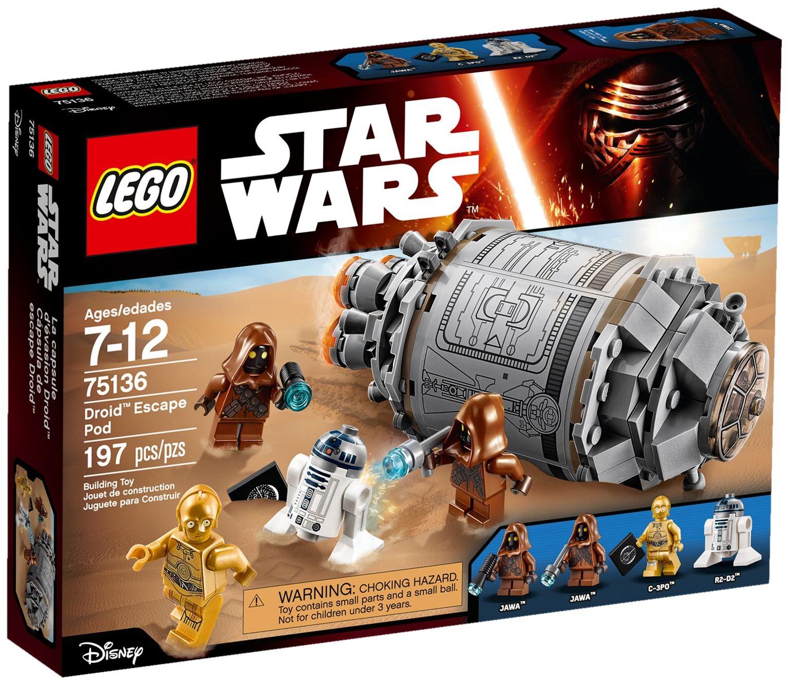 Đồ Chơi Xếp Hình - Khoang Chứa Trốn Thoát Của Rôbôt Thương Hiệu LEGO