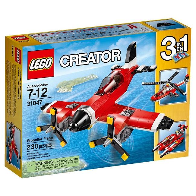 Đồ Chơi Xếp Hình - Máy Bay Cánh Quạt Thương Hiệu LEGO