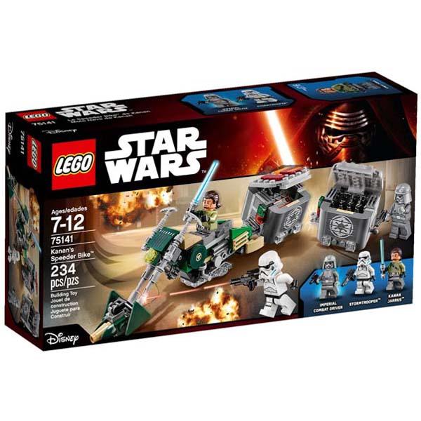 Đồ Chơi Xếp Hình -  Môtô Tốc Độ Của Kanan Thương Hiệu LEGO