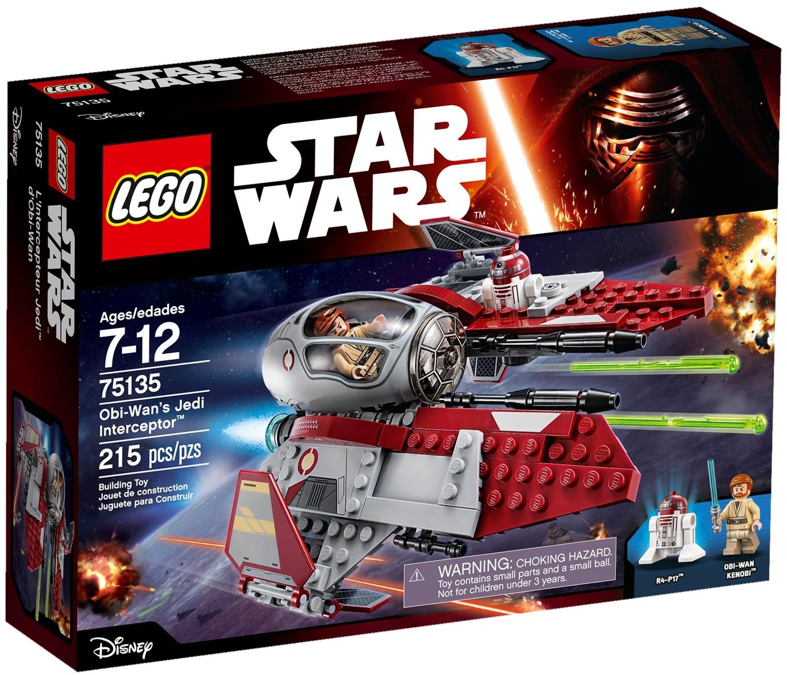 Đồ Chơi Xếp Hình - Phi Thuyền Chiến Đấu Của Obi-Wan Thương Hiệu LEGO