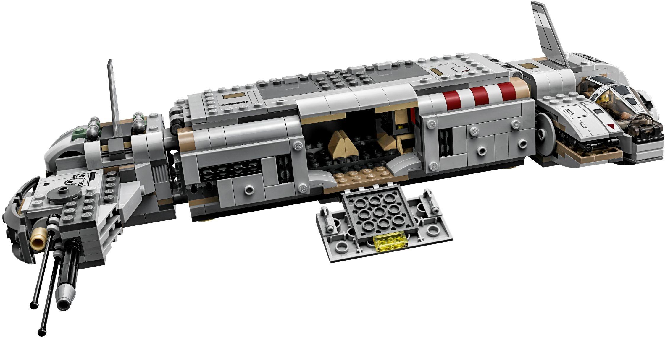 Đồ Chơi Xếp Hình -  Tàu Bay Thiết Giáp Của Đội Quân Kháng Chiến Thương Hiệu LEGO