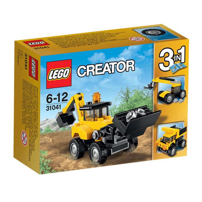 Đồ Chơi Xếp Hình -  Xe Công Trình Xây Dựng Thương Hiệu LEGO