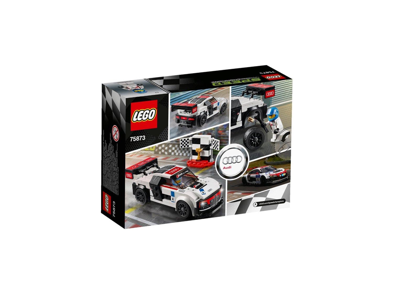 Đồ Chơi Xếp Hình - Xe Đua Audi R8 LMS Ultra Thương Hiệu LEGO