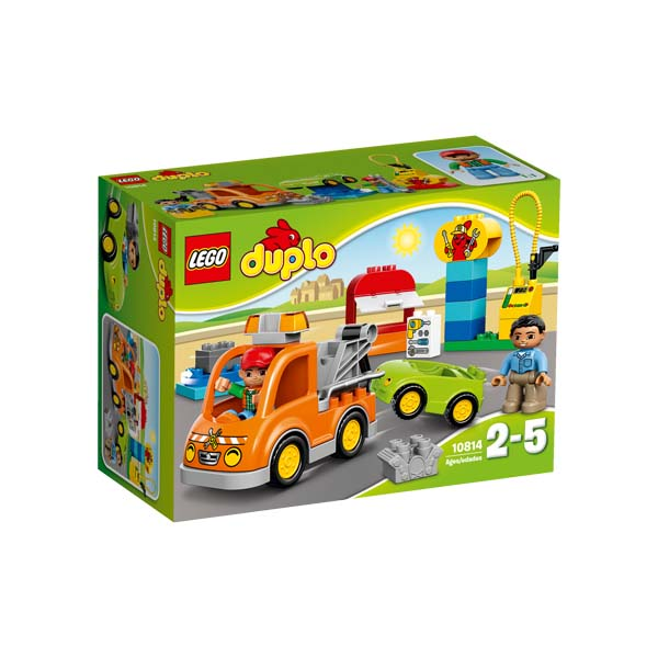 Đồ Chơi Xếp Hình - Xe Tải Cứu Hộ Thương Hiệu LEGO