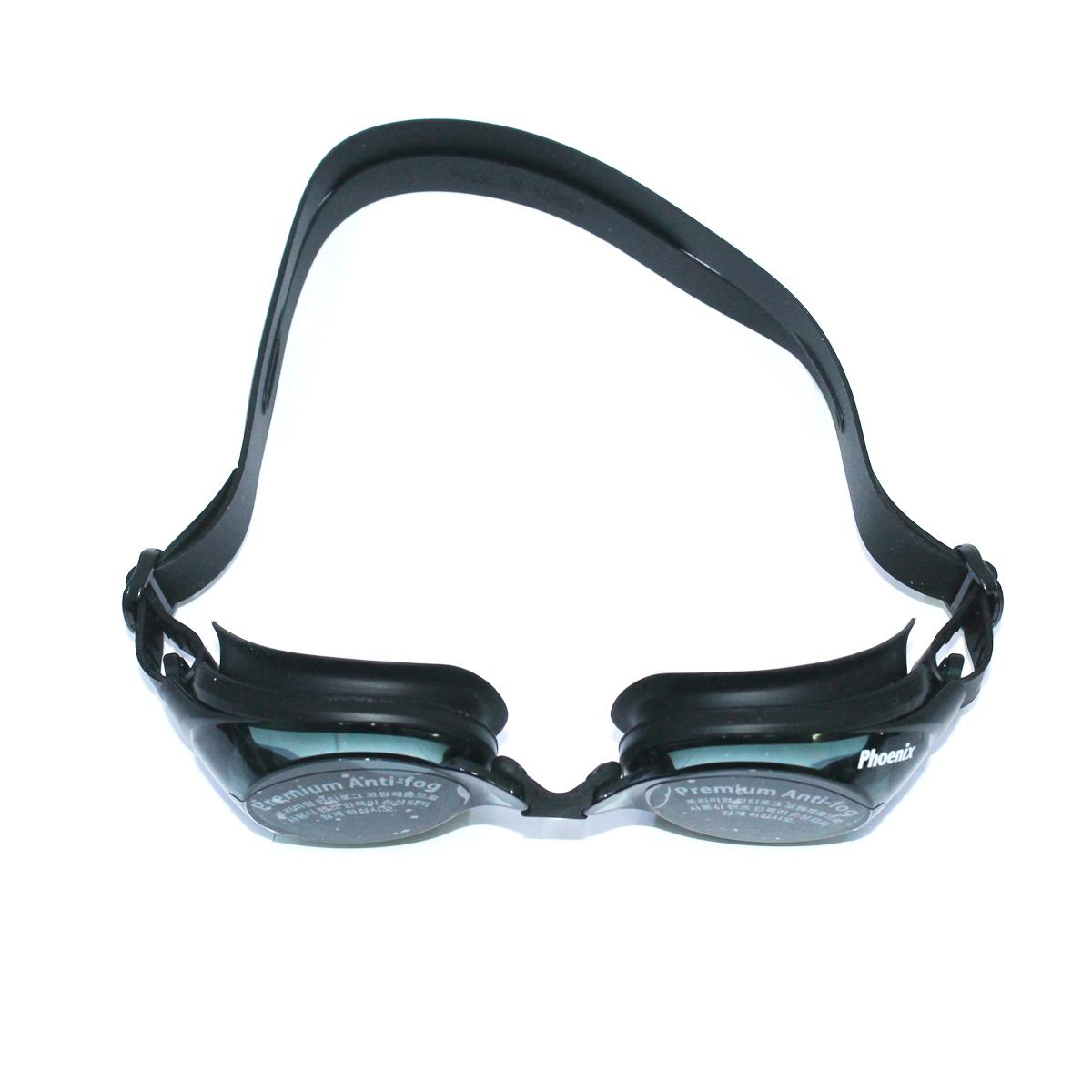 Kính bơi Phoenix chuyên nghiệp Hàn QuốcPN1200 màu đen P1200BK