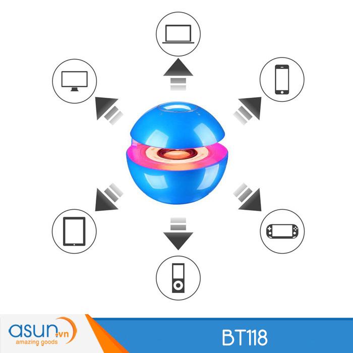 Loa Bluetooth Mini Speaker BT118 Blue