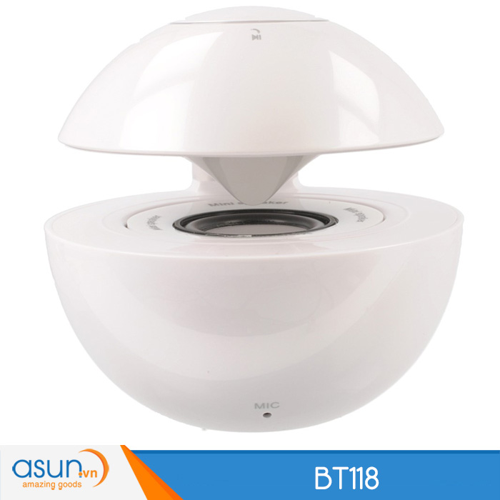 Loa Bluetooth Mini Speaker BT118 White