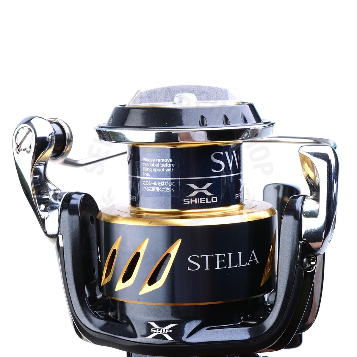Máy câu Shimano Stella SW SW8000HG BH 1 Năm Chính Hãng