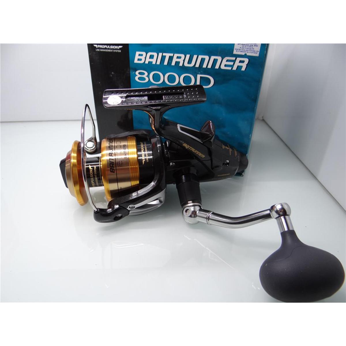 Máy câu cá Shimano Baitrunner 8000D BH 1 Năm Chính Hãng