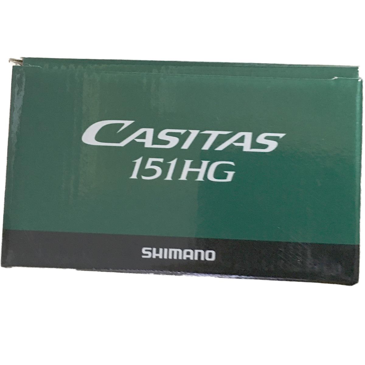 Máy Câu Ngang Shimano Casitas 151 HGTay Quay Trái BH 1 Năm