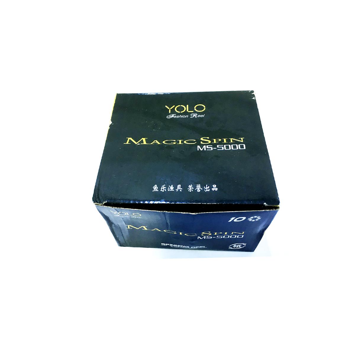 Máy Câu Cá Yolo Magic Spin MS5000 - Chính hãng bảo hành 3 tháng
