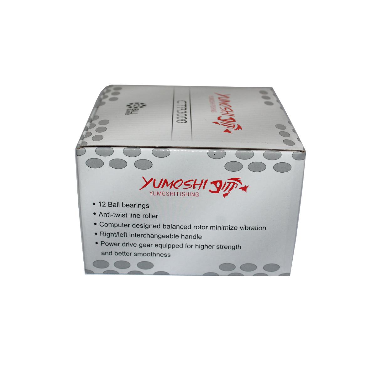 Máy Câu Cá Yumoshi CTR3000 - Chính Hãng Bảo Hành 3 Tháng