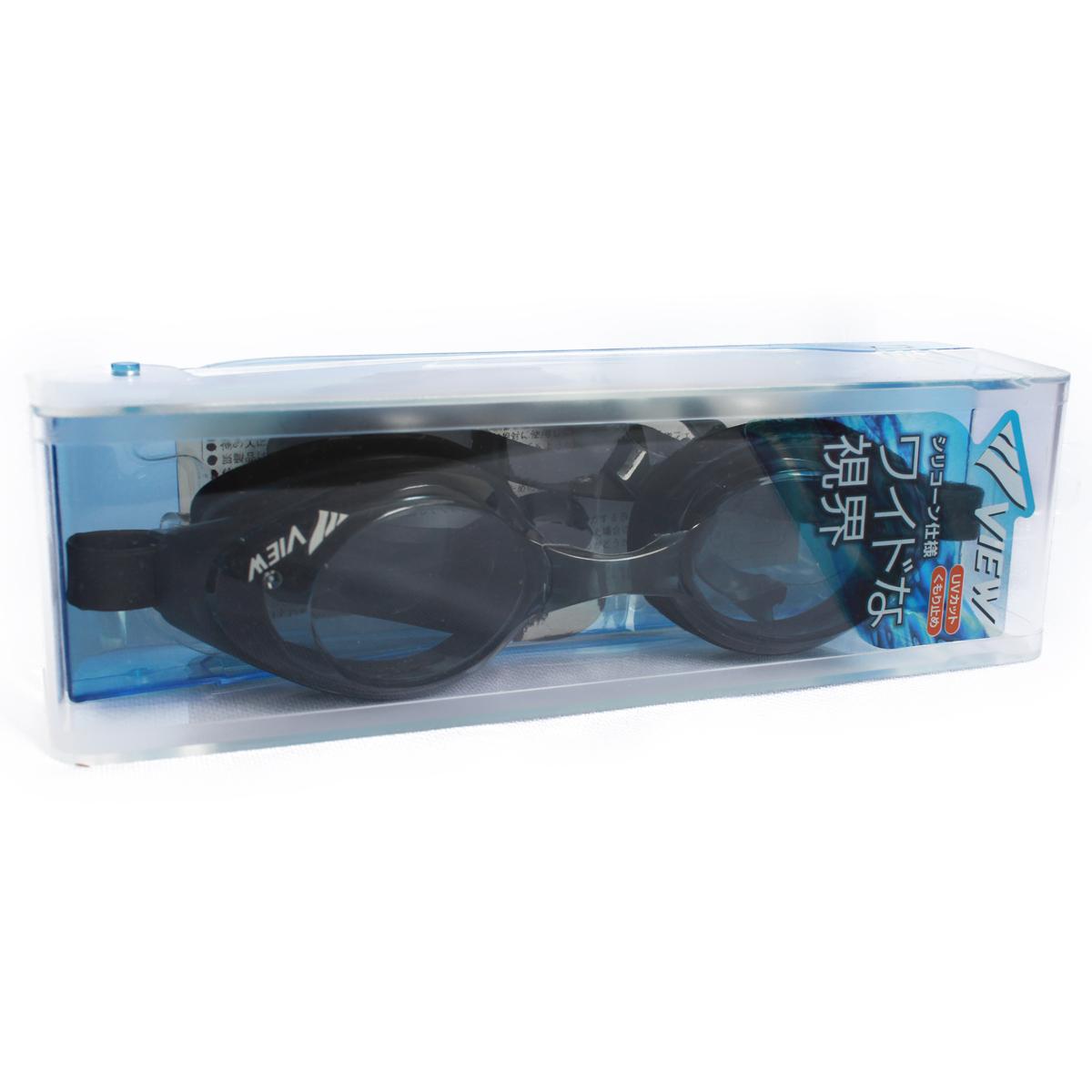 Kính Bơi hàng nhật View V610 màu đenV610BK
