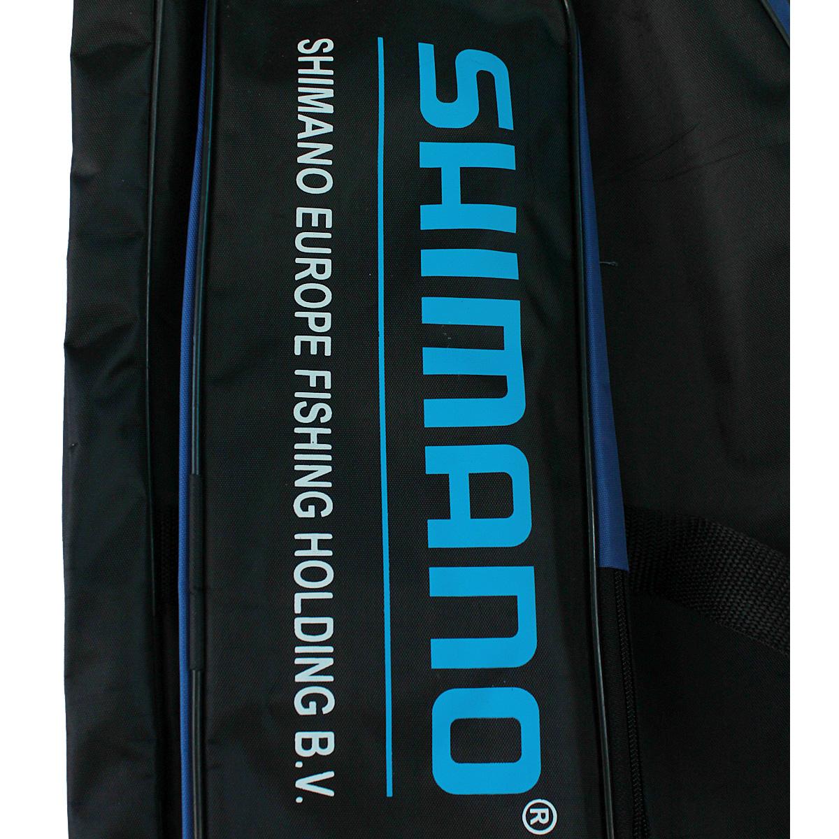Túi Vải Đựng Cần Câu Cá Shimano cho cần hai khúc 2m7 hai ngăn