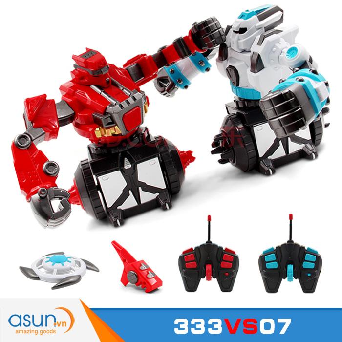 Bộ Robot Điều Khiển Đánh Nhau 333vs07 Cực HOT