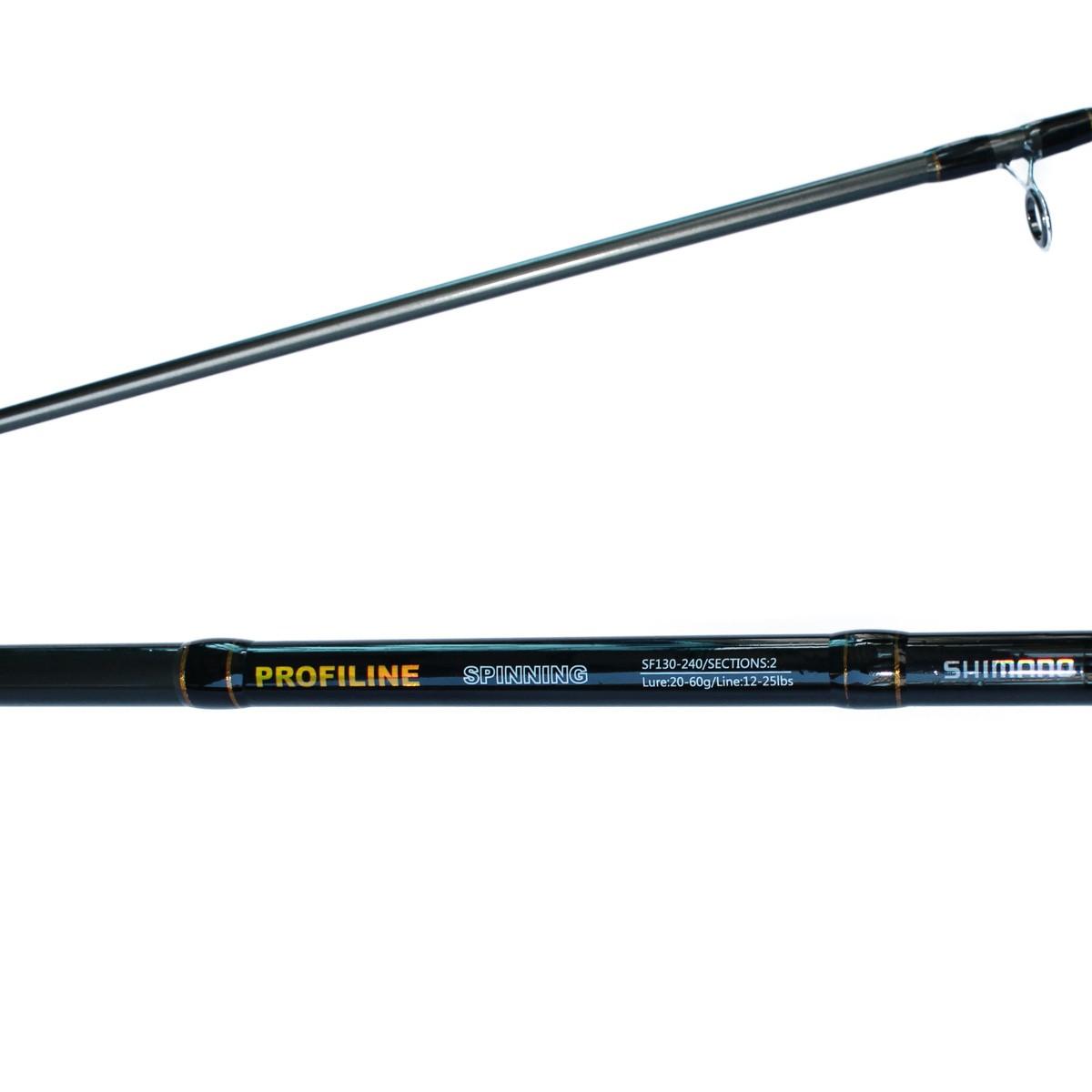 Cần Câu Hai Khúc Shimano Profiline 2m4 -Cần Câu Cá Loại Tốt