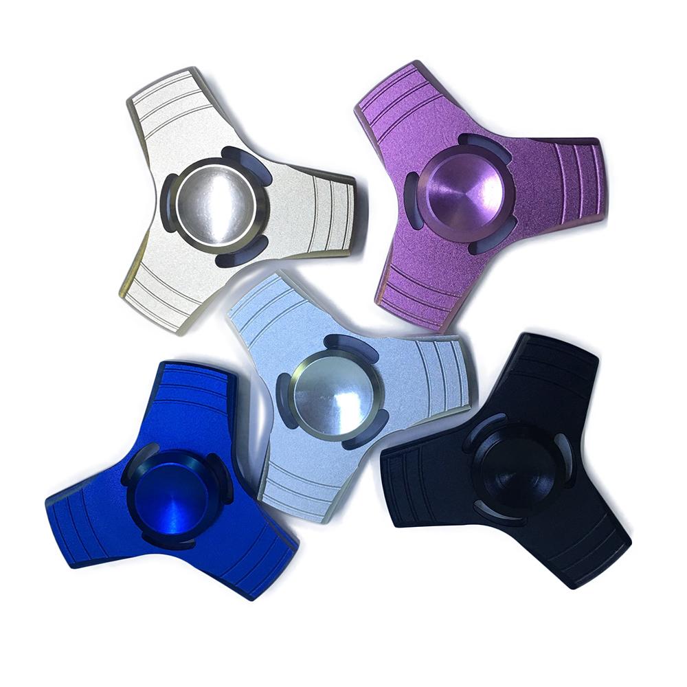 Con Quay Giảm Stress Trinity 3 Cánh Nhôm Hand Spinner - Fidget Spinner
