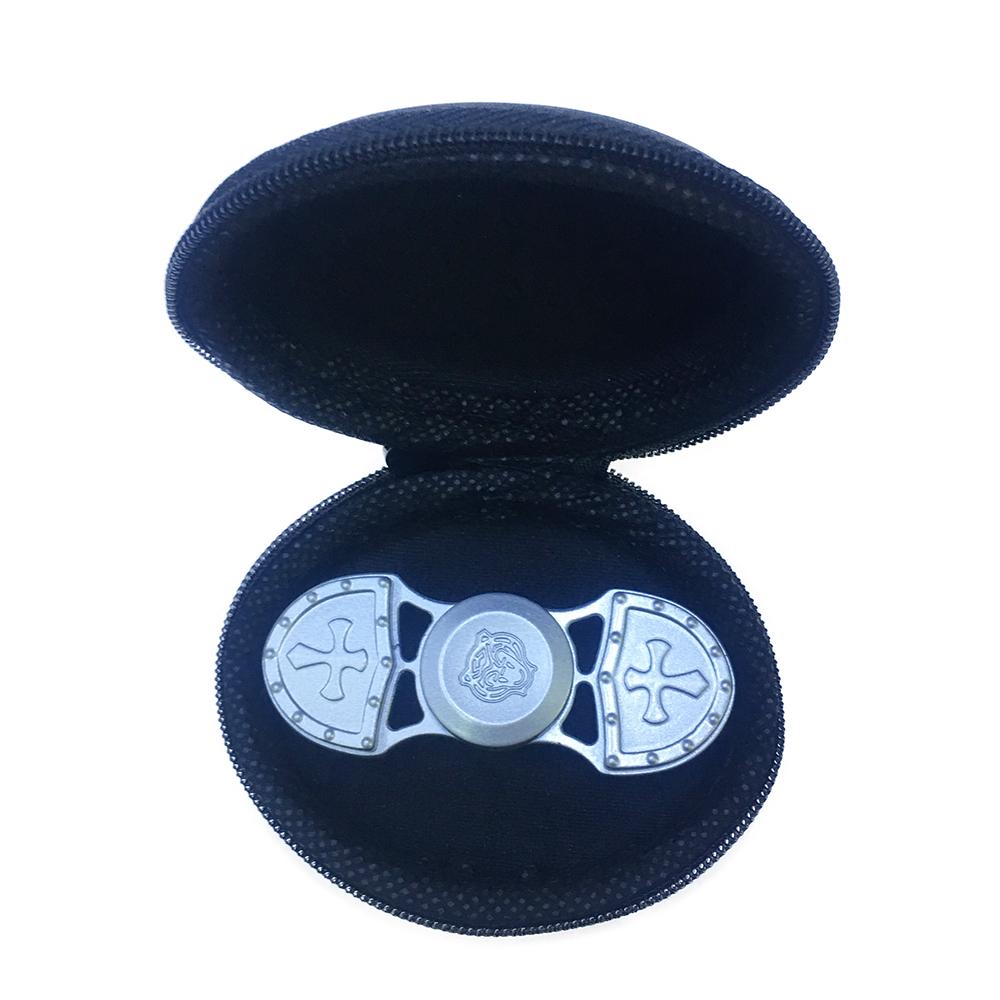 Con Quay Giảm Stress Shield 2 Cánh Hand Spinner Màu Vàng Đồng - Fidget Spinner