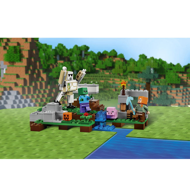 Đồ Chơi Xếp Hình - Hộ Vệ Sắt Golem Thương Hiệu LEGO