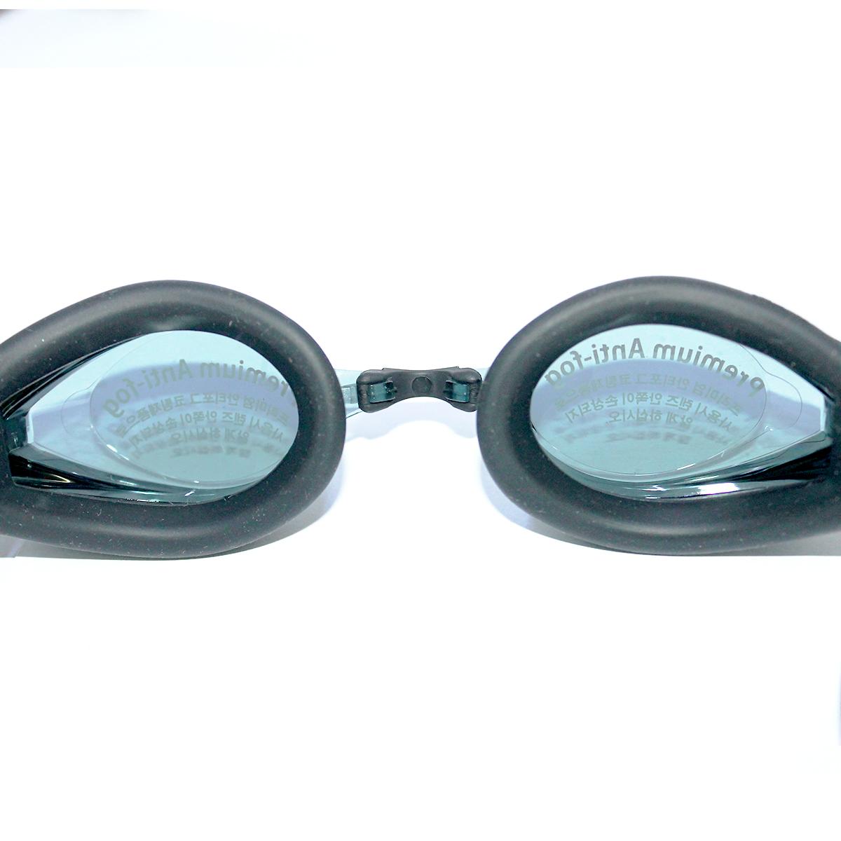 Kính bơi Phoenix Hàn Quốc Chuyên Nghiệp Không Tráng Gương PN802  màu đen  P802BK