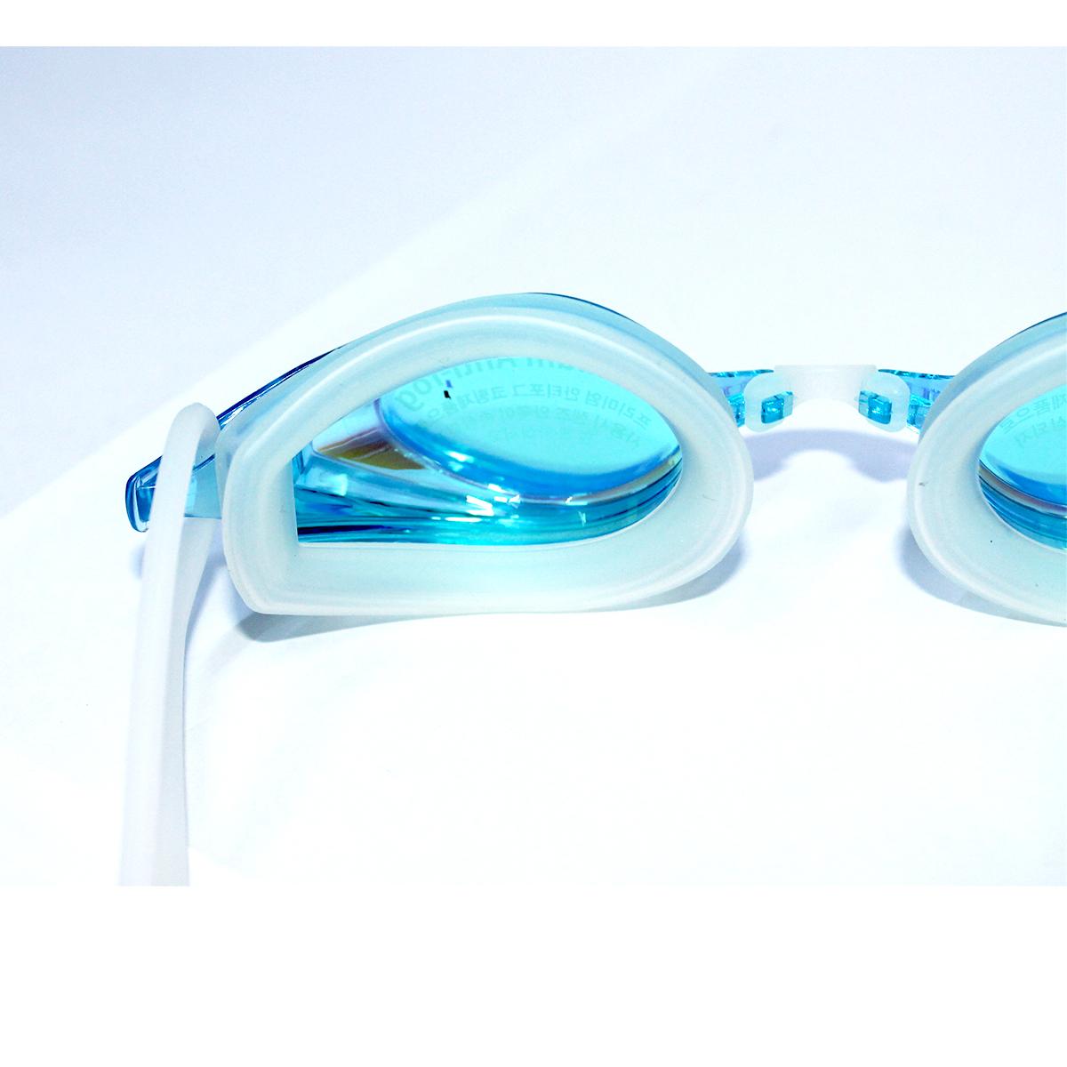 Kính bơi Phoenix Hàn Quốc Chuyên Nghiệp PN802 có tráng gương màu xanh nhạt P802MRAQ