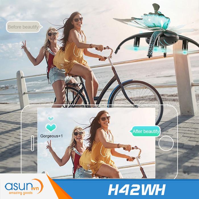 Máy Bay Điều Khiển Từ Xa JJRC H42WH Kiểu Dáng Bươm Bướm Wifi Camera
