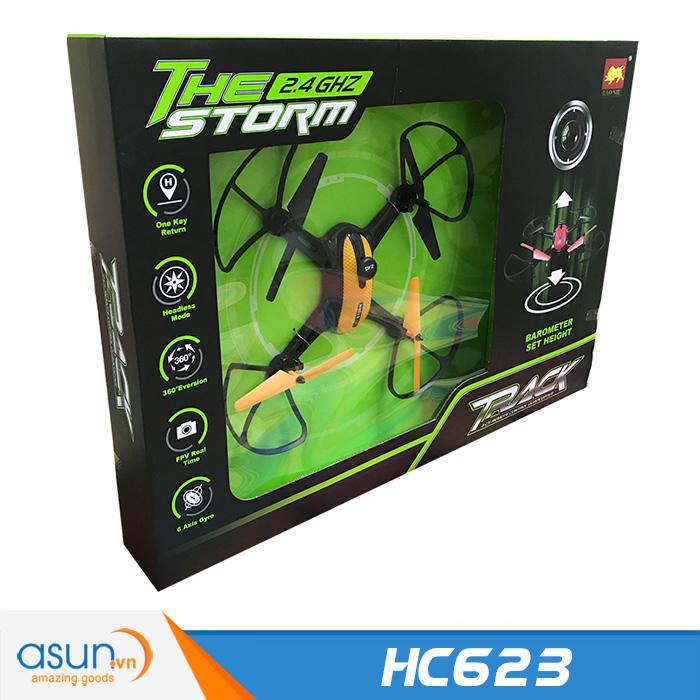 Máy Bay Điều Khiển HC623 Quadcopter Camera Wifi The Storm