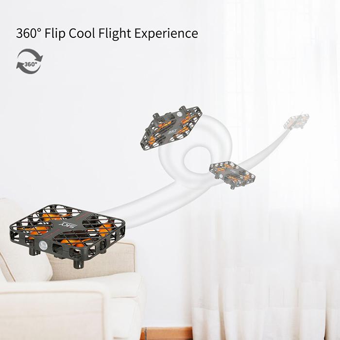 Máy Bay Điều Khiển Từ Xa  mini Sky Phantom UFO 777-382 Happy Cow