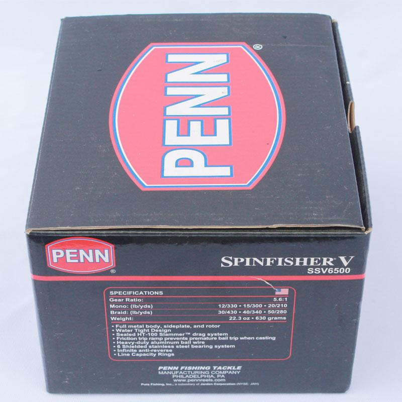 Máy Câu Cá Penn Spinfisher V 6500 BH 1 Năm Chính Hãng