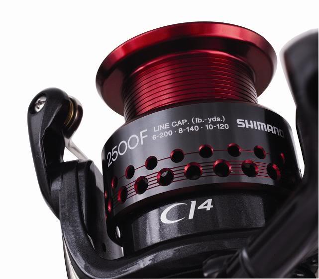 Máy câu cá Shimano Stradic CI4+ 2500 FA BH 1 Năm Chính Hãng