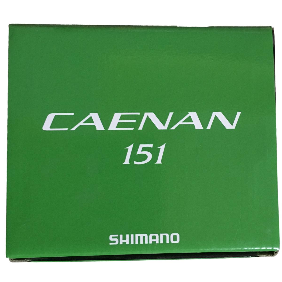 Máy Câu Ngang Shimano Caenan 151Tay Quay Trái BH 1 Năm